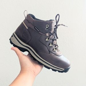 Timberland Kids Brown Hiking Waterproof Boots